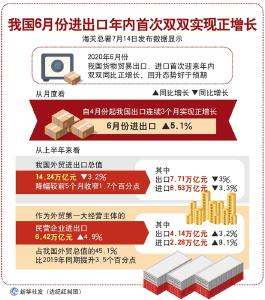 迎难而上 逆风飞扬——上半年中国外贸形势观察