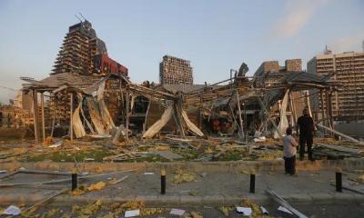 最新:黎巴嫩爆炸已致至少78死、4000伤,总理归因于2700吨硝酸铵
