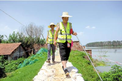 省防指:谨防退水阶段险情风险