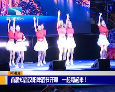 首届知音汉阳啤酒节开幕  一起嗨起来!