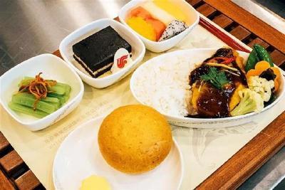 8月1日起,武汉旅客乘坐国航航班可吃到热食了
