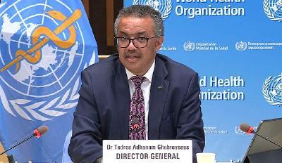 世卫组织:全球70%新冠确诊和死亡病例来自10个国家