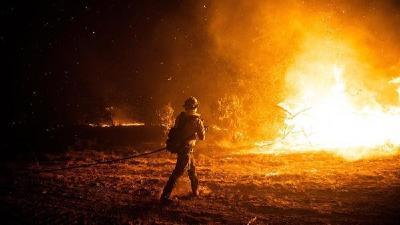 山火迟迟难控制 美俄勒冈州10%人口撤离
