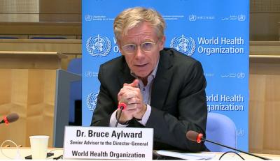 世卫组织:正与中国谈新冠疫苗合作