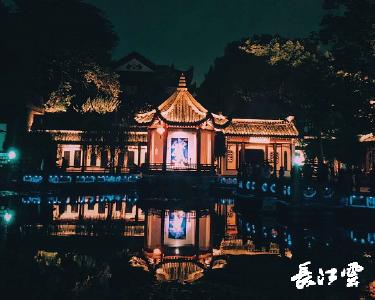 """黄鹤楼上新啦!夜游演艺将公演 全城寻""""李白""""夜赏千年名楼"""