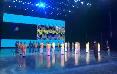 第七届鄂台(苗栗)青少年武当文化夏令营 网上交流活在武当山成功举办