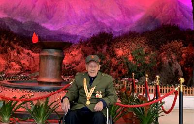 随县这位老兵两上朝鲜战场 手抚弹伤再忆峥嵘岁月