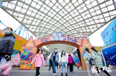 惠游湖北 实惠返民!近80万外地游客畅玩武汉欢乐谷