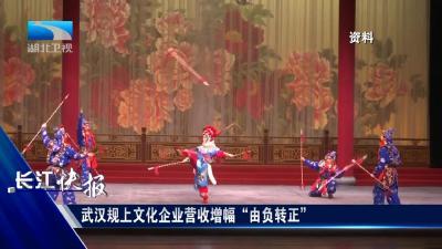 """武汉规上文化企业营收增幅""""由负转正"""""""