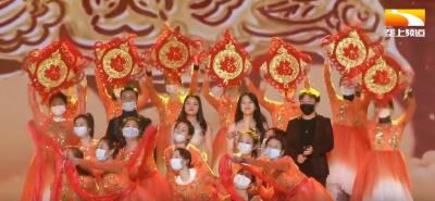 山水组合唱响中国农民春节联欢会