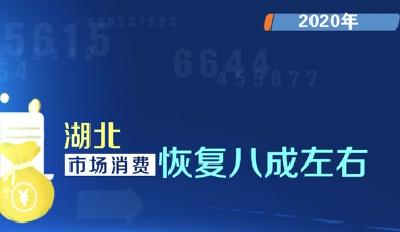 2020年湖北地区生产总值43443.46亿元