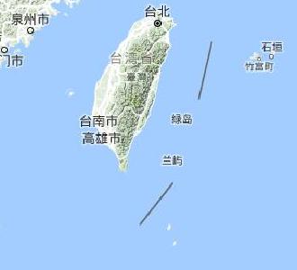 台湾台东县海域发生5.1级地震 震源深度20公里