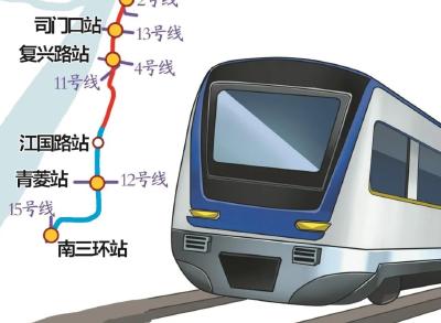 @武汉人,这条地铁线预计年底开通!