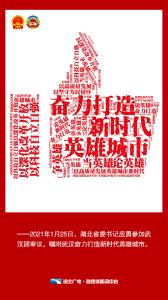 海报 | 应勇拍了拍武汉:奋力打造新时代英雄城市!