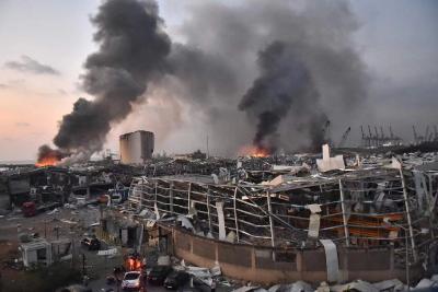 黎巴嫩拨付500亿黎巴嫩镑赔偿贝鲁特港口爆炸案灾民