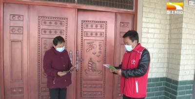 志愿服务常态化 织密农村疫情防控网