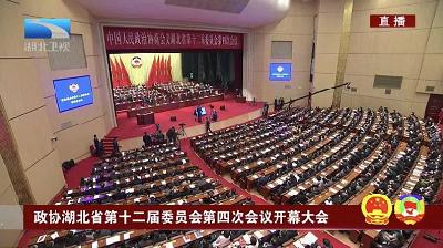 湖北省政协十二届四次会议开幕