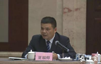 湖北省人大代表夏福卿:融入高层次创新平台 打通城市圈大通道