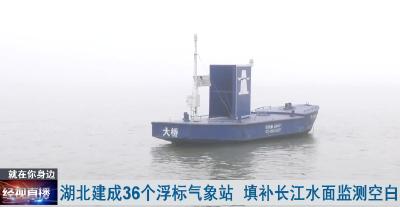 湖北建成36個浮標氣象站 填補長江航道水面監測空白