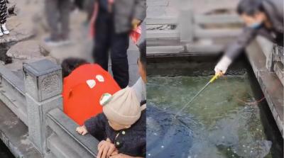 趵突泉捞出6万元硬币,别把观光池当成许愿池
