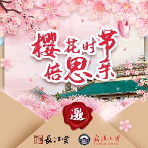 樱花时节倍思亲,武大校长:我们履约来了!