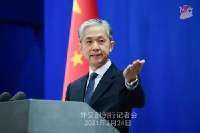 汪文斌:中国坚决反对英国滥用联合国人权理事会平台抹黑中国