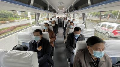 出发啦!39位住鄂全国政协委员集中启程赴京