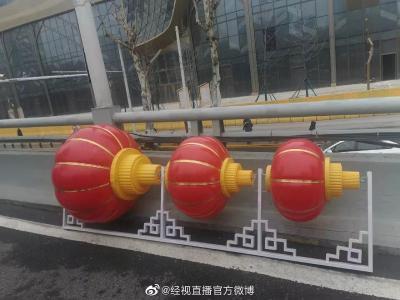 春节过完,武汉街头的红灯笼去哪儿了?