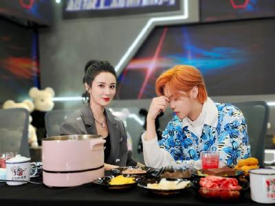 干饭人鹿晗与薇娅的吃播上线啦