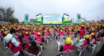 #湖北全球秀#2021年湖北省油菜花节开幕式文艺演出