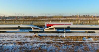 世界首次8辆编组高速动车组碰撞试验取得成功
