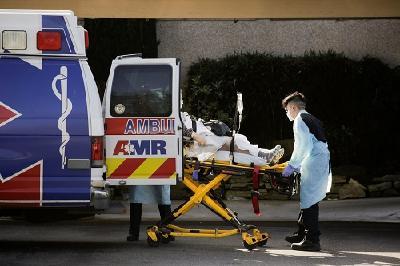 美国新冠确诊超3162万例 死亡病例占全球的18.86%