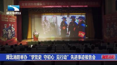 湖北消防举办学党史守初心见行动先进事迹报告会