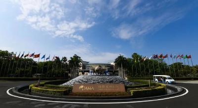 记者直击:博鳌亚洲论坛2021年年会准备就绪