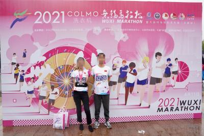 武汉小伙肺移植七年后成功跑完5公里迷你马拉松
