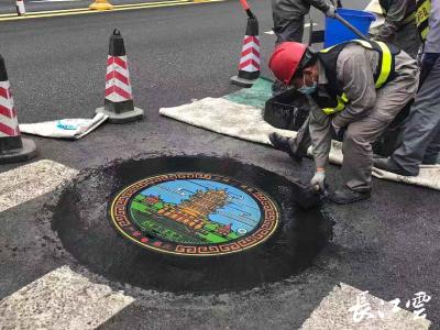 """维修问题井盖、调整洒水时间,武汉城市""""美容""""再升级!"""
