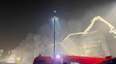 上海一厂房火灾 8名失联人员确认遇难