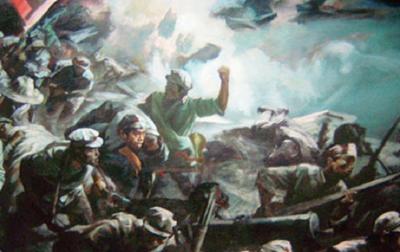 这一战役后,中央红军锐减