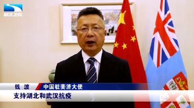 驻外大使为湖北打Call丨中国驻斐济大使:为湖北后疫情时代的发展提供更大的助力