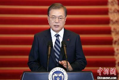 韩总统文在寅10日将发表就职四周年讲话