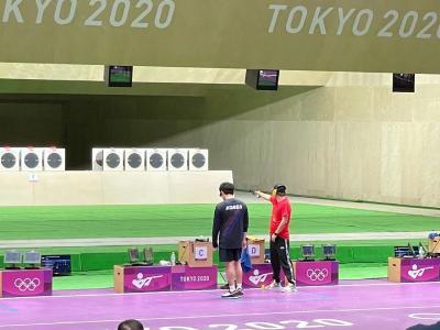 李越宏获男子25米手枪速射铜牌
