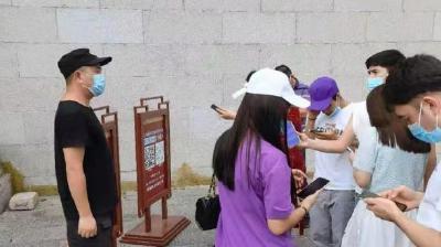 黄鹤楼公园疫情防控,对游客严对职工更严