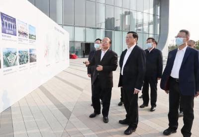 应勇在武汉经开区调研,要求坚持产城融合理念,建设宜居宜业现代新城