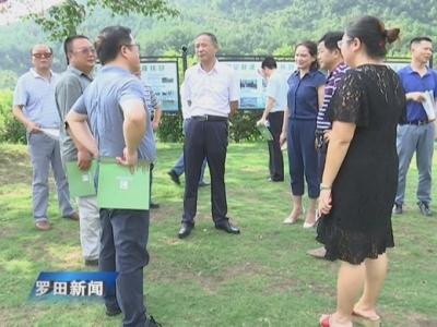 中国劳动保障报社社长赵国君一行来我县调研采访