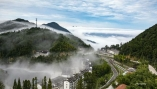 國慶長假,就去大別山觀云賞霧大別映像