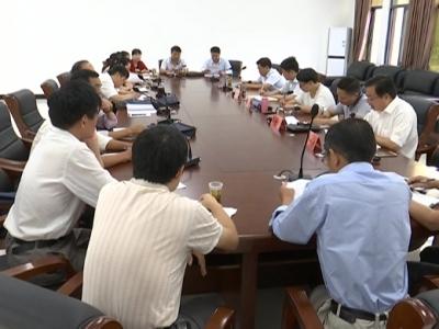 县人大常委会举行农家书屋建设调研座谈会