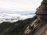 再见大别山,云漫天堂寨,这才是世外仙山