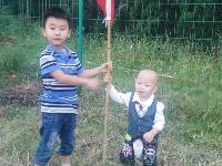 喜迎國慶——我與國旗的故事
