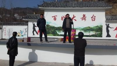 县文化局组织专家到三里畈镇督办文化年货