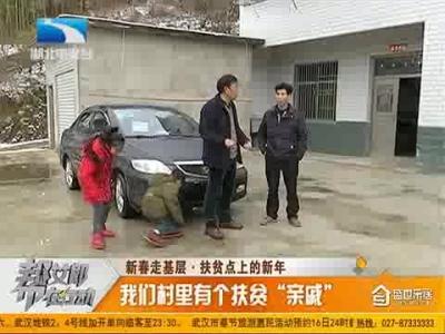 """新春走基層:我們村里有個扶貧""""親戚"""""""